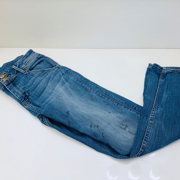 Hudson Jeans Denim - Hudson naturally distressed stained jeans 28x28